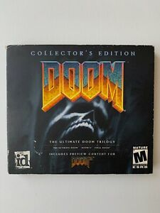 Doom Collector's Edition PC CD-ROM (Missing Disc 1) Ultimate Doom Trilogy