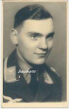 Portrait-Foto Soldat Fliegertruppe 2.WK (t293)