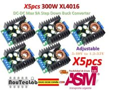 5pcs 300W XL4016 DC-DC Max 9A Step Down 5-40V to 1.2-35V Adjustable Power Supply