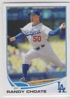 2013 Topps Baseball Los Angeles Dodgers Team Set