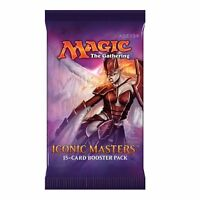 Magic the Gathering MTG Iconic Masters Busta Bustina Booster in Lingua Inglese