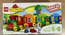 Lego Duplo Number Train 10558 Learn To Count 31 Pcs Ages 1 1/2-5 Complete