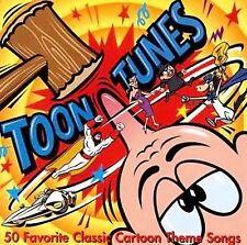 1 CENT CD Toon Tunes: 50 Favorite Classic Cartoon Songs POPEYE/TOM & JERRY/YOGI