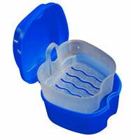 Prothesenkoffer Prothese Box Dental Falsche Zähne Aufbewahrungsbox Storage Box