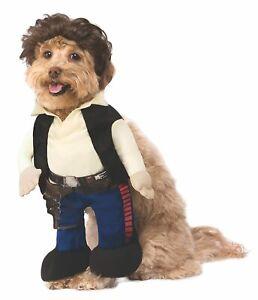 Han Solo Star Wars Classic Pilot Fancy Dress Up Halloween Dog Cat Pet Costume