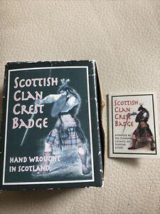 scottish clan badge 'Logan'