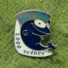 #P197.  SYDNEY 2000 OLYMPIC PIN - BLUE FISH