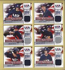 2014 Elite Extra Edition USA Baseball 15U Game Jerseys #17 Hunter Greene - Reds