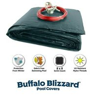 Buffalo Blizzard ECONOMY Swimming Pool Winter Covers - Choose Size