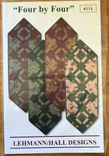 """Quilt Pattern: """"Four by Four"""" by Lehmann/Hall Designs"""