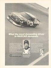 1990 Chevrolet Lumina Race Earnhardt Advertisement Print Art Car Ad J574