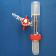 Safe Lab Glass Air Free Schlenk Adapter 24/40