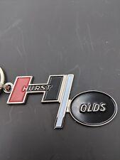 """68-69 olds 442 """"hurst/olds"""" emblem keychains (D7)"""