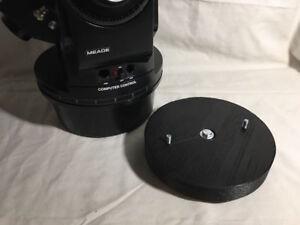 Adaptor fits Meade ETX scopes on normal Photo Tripod etx60 etx70 etx80 etx90 884
