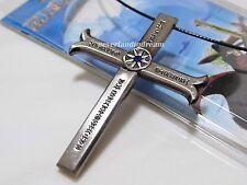 One piece Dracule Mihawk's cross sword scabbard pendant Dracule weapon necklace