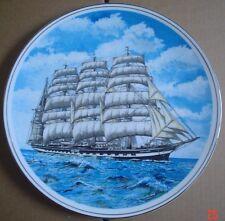 Pearsons Of Norwich England Collectors Plate KRUSENSTERN (Ex PADUA) Sailing Ship