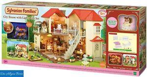 Sylvanian Families 3646 Stadthaus m. Licht Geschenkset City House Epoch Neu OVP