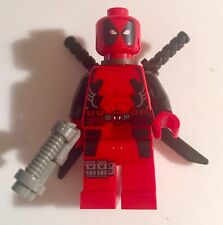 Lego Marvel Deadpool Minifigure From Set 6866 100% Authentic