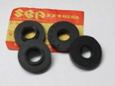 (4) SUZUKI FENDER GROMMET WASHERS RM TM GS RV TC TS RM125 GS750 GS1100 TM400