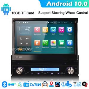 Carplay Android 10.0 Autoradio 1din gps wifi bt 4g radio DAB + DVB-t cd usb stereo