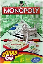 Monopoly Grab and Go Game Hasbro Gaming NEW