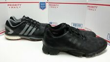 Lot of 2 Pairs of Adidas Golf Shoes - Boosts + Green Stars Mens Sz 9.5 Fast Ship