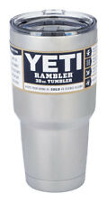 Yeti Rambler Stainless Steel Coffee Mug Cup Insulated 30oz Tumbler with Lid