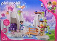 Playmobil Magic 9470 Suche den Liebes-Kristall Prinz Prinzessin Schwan Eule NEU