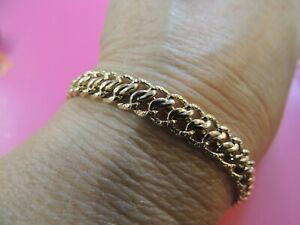 Bracelet gourmette or jaune 18 carats