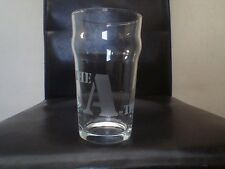 The A Team Engraved Etched Pint Beer Glass