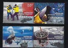Australie Antarctique 2008 Année Polaire Set of 4 Fine Used