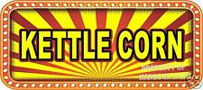 "Kettle Corn 18"" Decal Concession Lettering Food Truck Restaurant Vinyl Sticker"