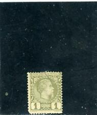 Monaco 1885 Scott# 1 mint og hinged