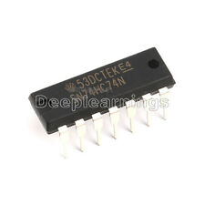 10 pcs TI SN74HC74N DIP-14 74HC74 Integrated Circuit IC NEW