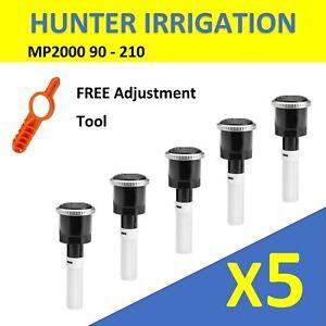 Qty 5: $12.95 ea Hunter Irrigation Rotating Nozzles 5PK MP2000 90 - 210 Pop Up