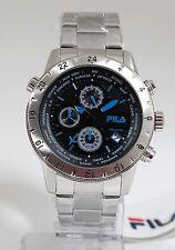 FILA Edelstahl Herren Chronograph MODELL Fa38-007-004 F28