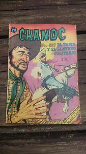 """VTG 1969 MEXICAN COMIC CHANOC # 527 """"EL TAPIR Y EL LLAVERO SOLITARIO"""" HERRERIAS"""