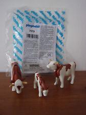 Playmobil Ergänzungen & Zubehör - 7079 Rinder mit Kälbchen - Neu