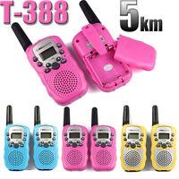 T-388 Wireless Walkie-talkie Set Eight Channel 2 Way Radio Intercom 5KM Travel