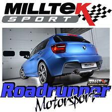 Milltek BMW M135i Cat Back Exhaust 1Series 3&5 Door F21 F20 RACE Polish SSXBM967