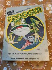 Frogger for the Atari 2600 Boxed