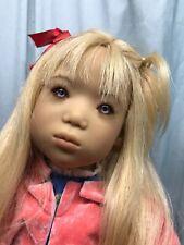 Annette Himstedt doll Runi I Iceland girl from 1998 - blonde - 50% off