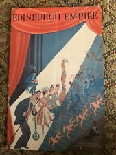 More details for edinburgh empire theatre programme 1956 robert brothers circus acts listed