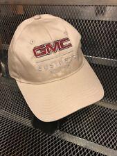 GMC BUSINESS ELITE ~ NEW ~ TRUCKS CARS ~ Tan Strap Back Hat Cap GOLF