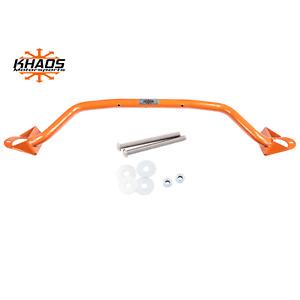 Khaos Motorsports Strut Tower Brace Dodge Charger Challenger 300 Hemi Orange