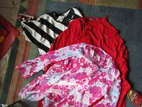 3 Damenblusen - Shirts - feiner Pullover Gr. 48 Janina + Creation L u.a.