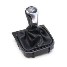 VW Leder Schaltknauf R line Aluminium Golf 5 6 Scirocco Jetta Eos Knauf Hebel