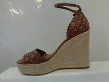 Dune Kamilea Floral Cut Out Stud High Wedged Espadrille Ladies  UK 6 REF M814=