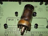 Röhre Telam EF 22 Tube 12 mA Valve auf Funke W19 geprüft BL-1930