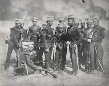 British Army Gurkha Nusseree Battalion 1857 Empire Photo 6x5 Inch Reprint R